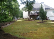 Leveling Backyard Atlanta