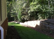 Side yard Landscaping ATL